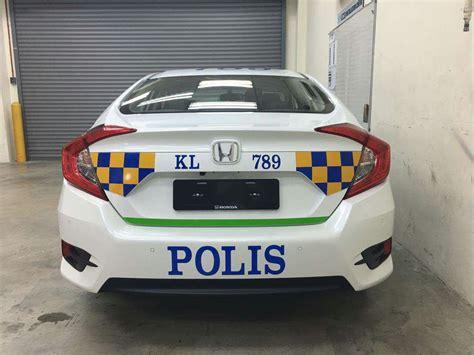 Polis guna Honda Civic 2016 sebagai kereta peronda? Paul ...
