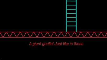 Gorilla Giant Neon