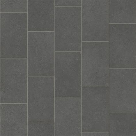 Pacific Vinyl Flooring   Grey Oblong Tile Design