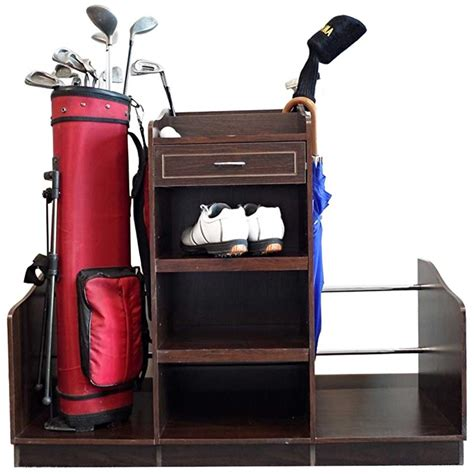 Golf Bag Organizer In Golf Racks And Organizers