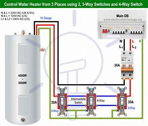 How To Control Water Heater Using 1 2 3  U0026 4