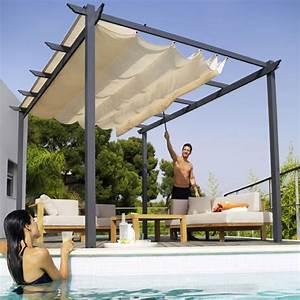 Tonnelle Pour Balcon : tonnelle blooma clipperton 3 x 4 m pinterest tonnelles ~ Premium-room.com Idées de Décoration