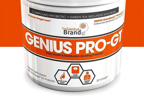 Genius Progt A Simple Combination Of Probiotics And Green Tea