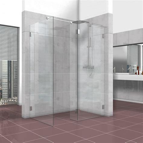 duschwand mit tür duschwand walk in dusche