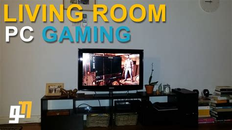 living room pc gaming with steam 39 s in built