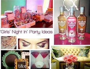 10 Ideas For A Fabulush Girls' Night In Party Midtown Girl