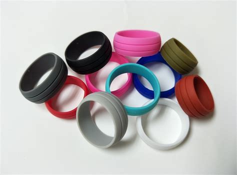 popular rubber wedding rings buy cheap rubber wedding rings lots from china rubber wedding rings