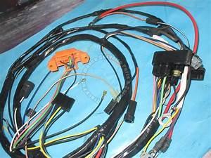 1974 Corvette Engine Wire Harness 350 W  Manual Orange