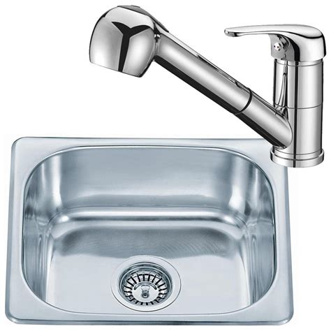 kitchen sink and tap sets small stainless steel inset kitchen sink bowl pull out 8436