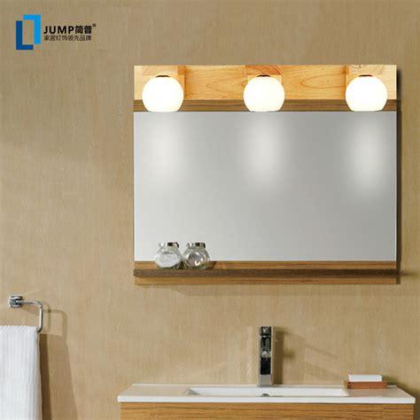 pauvres moderne mode minimaliste en bois ikea miroir de salle de bain de lumi 232 re miroir