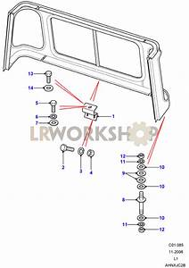 Cab Body Panel Fixings