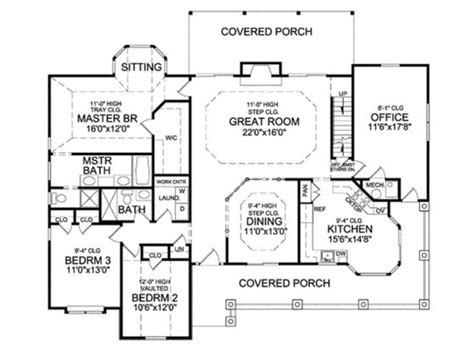 house plans with kitchen in front front kitchen home plans