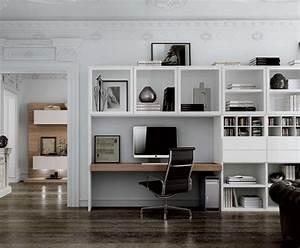 Meuble Ordinateur Salon : r sultat de recherche d 39 images pour biblioth que bureau house interior pinterest bureau ~ Medecine-chirurgie-esthetiques.com Avis de Voitures