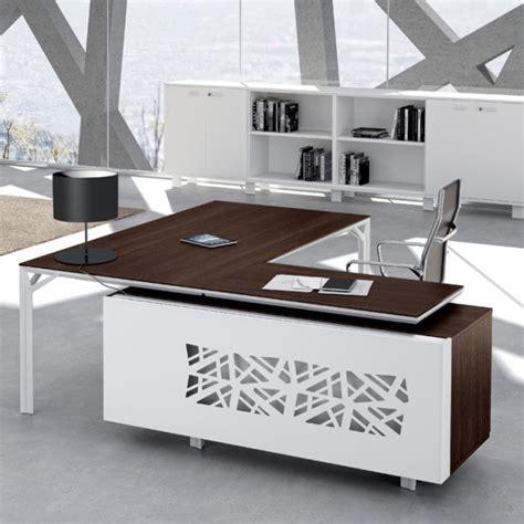 bureau aluminium bureau avec retour 180cm 240cm en aluminium eight