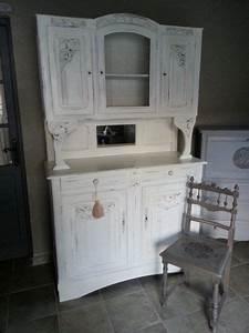 Relooking Meuble Ancien : buffet ancien relooke eleonore deco relooking meuble ~ Melissatoandfro.com Idées de Décoration