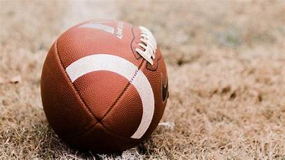 Football American Ball Lawn Background 1080p Bible