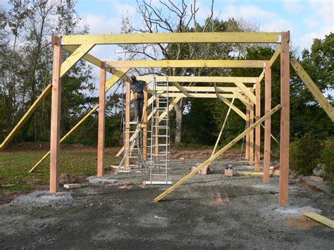 construction garage en bois morlaix 2011 paugam