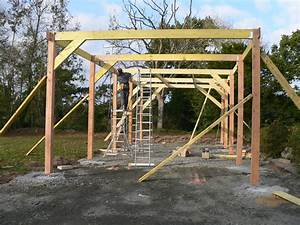 construction garage en bois morlaix 2011 thomas paugam With construction d un garage en bois