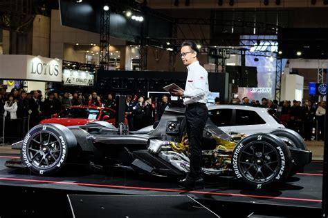 toyota gazoo racing gr super sport concept ybridiko