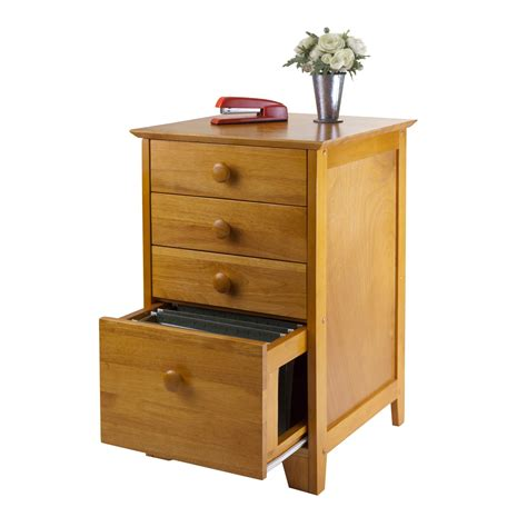 wood filing cabinets winsome wood file cabinet with 4 drawers