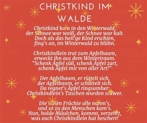 gedicht vom weihnachtsbaum 28 images die besten 25