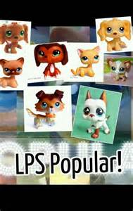 Littlest Pet Shop LPs Popular Characters