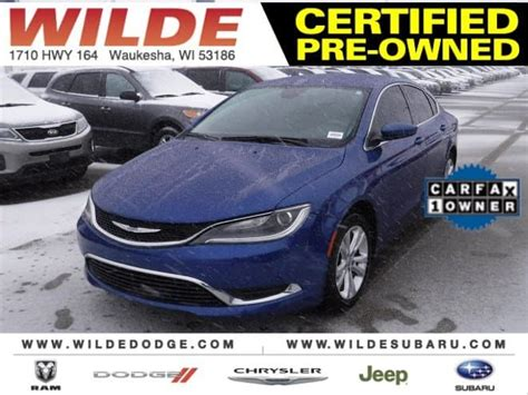 Is Dodge Owned By Chrysler by Used Car Of The Week Certified Pre Owned 2015 Chrysler