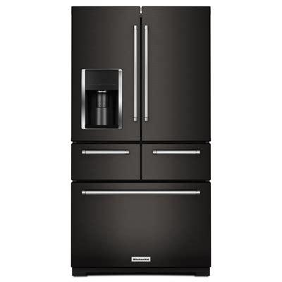 Kitchenaid Refrigerator Tech Support by Kitchenaid Refrigerator Krmf706ebs 25 8 Cubic Ft Black