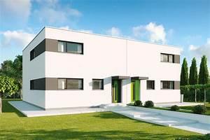 Fertighaus Flachdach Modern : fertighaus dopplehaus im bauhaus stil gussek haus ~ Sanjose-hotels-ca.com Haus und Dekorationen