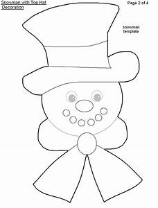 9 Best Images of Printable Top Hat Snowman - Snowman Top ...