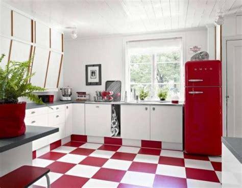 cocina  piso rojo casa web