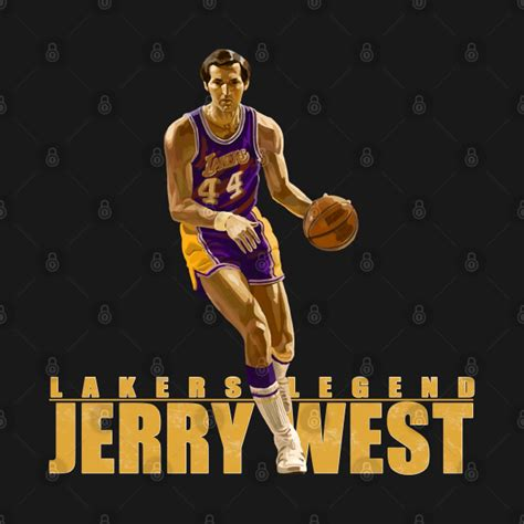Vintage Lakers Jerry West Jersey Los Angeles - Jerry West ...