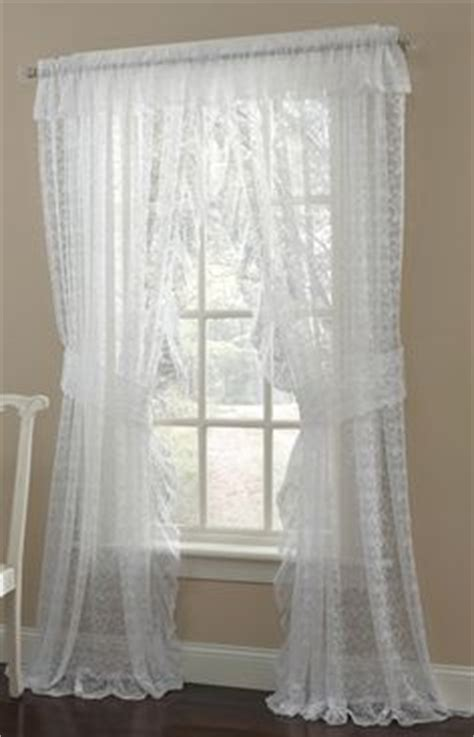 Priscilla Curtains For Living Room by 1000 Ideas About White Lace Curtains On Lace