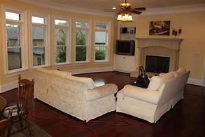 arrange living room furniture open floor plan thefloorsco With arranging living room with open floor plans