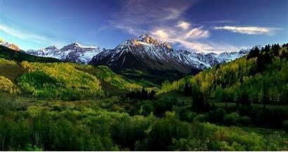 Colorado Mountains Sneffels Gold Peak Desktop Mountain