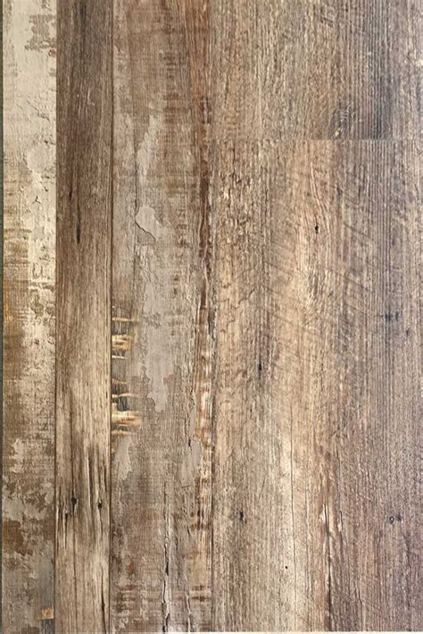 reclaimed pine home decor rigid core  pad attached