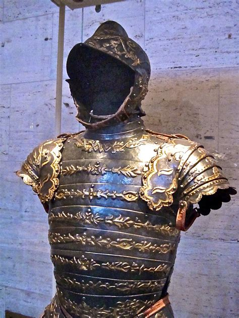 armor corsaletto steel blued embossed  gilded flickr