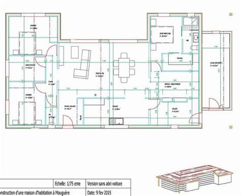 plan maison en u finest beautiful plan maison bois en u dans le pays basque with plan maison en u plain pied with