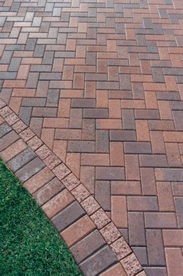 best 25 driveway pavers ideas on concrete
