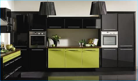 green black and white kitchen 35 eco friendly green kitchen ideas ultimate home ideas 6932