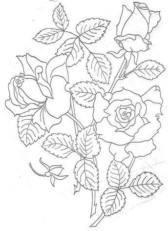 rose large | Hand embroidery patterns free, Embroidery