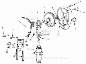 Campbell Hausfeld Al2710 Parts Diagram For Gear  Pump Assembly