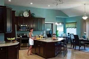 kitchen cabinet colors for kitchen colors with brown With kitchen colors with white cabinets with teal and black wall art