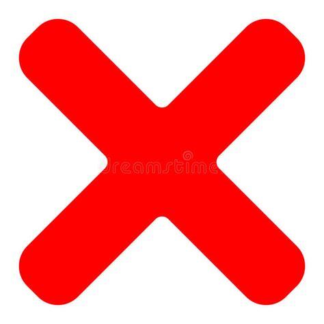red cross symbol icon  delete remove fail failure incorr