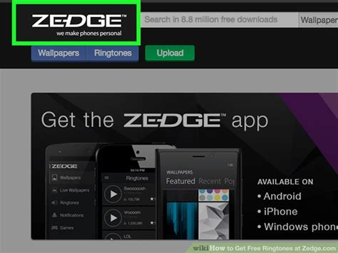 Get Tones by How To Get Free Ringtones At Zedge With Pictures