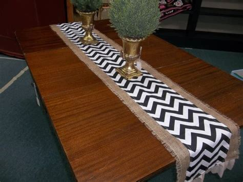 Navy Burlap Table Runner   SUMMER SPECIAL Burlap and Navy
