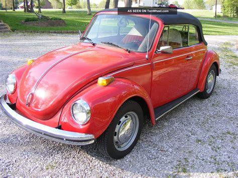 1973 Volkwagon Beetle Convertible