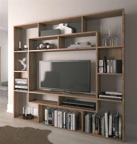 inspirations  tv bookshelves