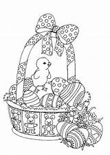 Easter Coloring Pages Adults Adult Basket Printable Colouring Spring Bestcoloringpagesforkids Sheets Bunny Printables Tags Getcolorings Disegni Getdrawings Uploaded 記事 保存 sketch template