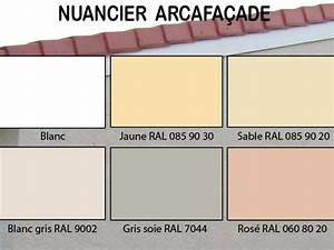 Peinture de protection et de décoration des façades ARCAFACADE etancheite Produits d